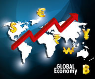Global economy design, Stock Photos