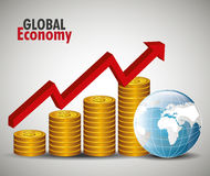 Global economy design, Stock Photo