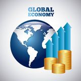 Global economy Royalty Free Stock Image