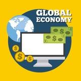 Global economy Royalty Free Stock Photos
