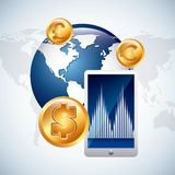 Global economy Stock Photography