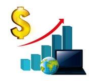 Global economy Stock Photography