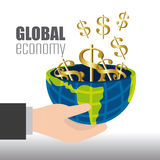 Global economy, money and business Stock Photo