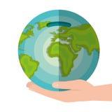 Global economy world savings. Illustration design Royalty Free Stock Photos