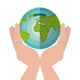 Global economy world savings. Illustration design Stock Image
