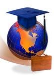 Global education & graduation Stock Image