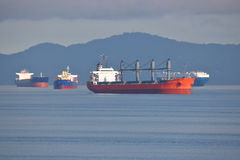 Global Effort Cargo Freighter Royalty Free Stock Photography