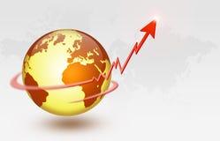 global ekonomi Royaltyfri Bild