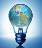 global energy concept Royalty Free Stock Photo