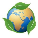 Global environment royalty free illustration