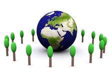 Global environment(europe) Royalty Free Stock Photography