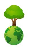 Global  environment graphic Stock Photography