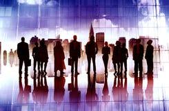 Global företags affär Team Vision Mission Concept Royaltyfri Bild