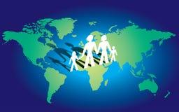Global family Royalty Free Stock Photos