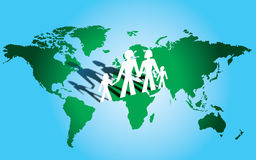 Global family 2 Stock Photography