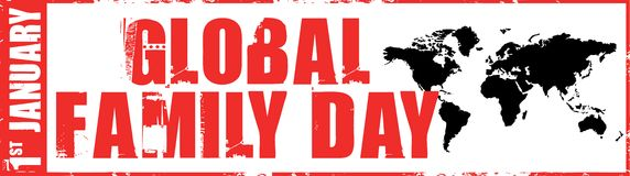 Global family day Stock Photo