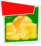 Global finance concept Royalty Free Stock Images