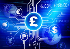 Global Finance Currency Investment Business Concept Stock Photo