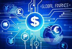 Global Finance Royalty Free Stock Photos