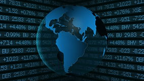 Global Finance Stock Market Royalty Free Stock Image