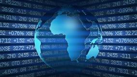 Global Finance Stock Market Royalty Free Stock Photos