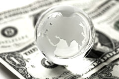Global finances concept Royalty Free Stock Photos