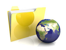 Global Folder Stock Images