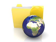 Global Folder - Europe Stock Photography