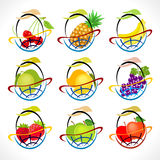 Global Fruit Baskets Royalty Free Stock Photo