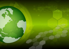 Global green technology Royalty Free Stock Photography