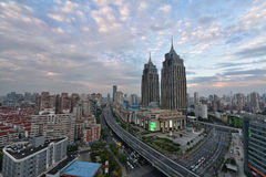 Global hamn, Shanghai Arkivfoton