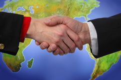 Global Handshake Stock Photography
