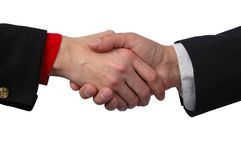 Global Handshake stock photo