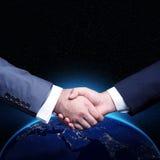 Global Handshake Royalty Free Stock Photography