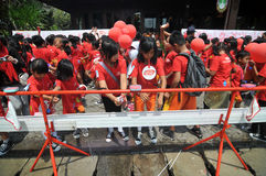 Global Handwashing Day in Indonesia Royalty Free Stock Images