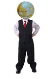 Global head for business Royalty Free Stock Photo