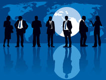 Global headhunting Stock Images