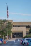 Global headquarters of Tesla, California. Corporate headquarters of the carmaker Tesla, California, USA Royalty Free Stock Photography