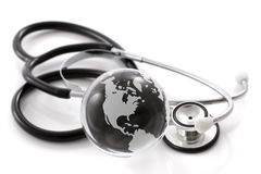 Global healthcare Royalty Free Stock Photos