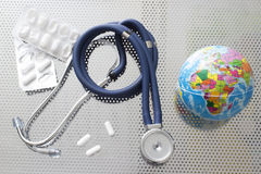 Global healthcare Royalty Free Stock Images