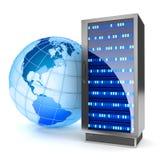 Global hosting Stock Images