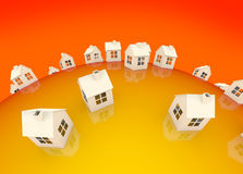 Global Housing Market Stock Image
