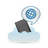 Global icon design, vector illustration Stock Images