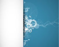 Global infinity computer  technology concept business background Stock Photos