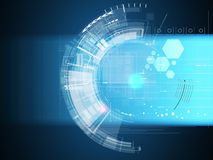 Global infinity computer  technology concept business background Stock Photo