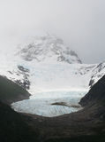 Global influence. The influence of global warming on glaciers Royalty Free Stock Photos
