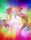 global information vektor illustrationer