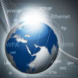 Global information network Stock Photography