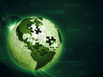 Global information network Royalty Free Stock Image