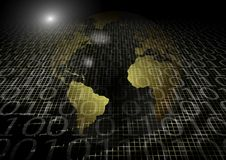 Global information technology Royalty Free Stock Images